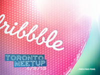 Toronto Dribbble Meetup - Sep 4