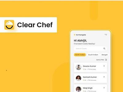 Chef App graphic design animation typography ui logo ux web branding app design