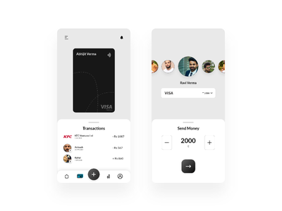 Banking App design banking app ux