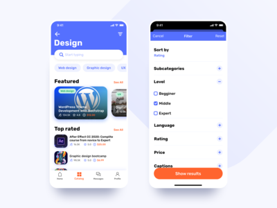 Learny - Education App Concept