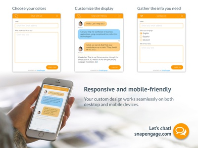 Chat Box Design Promo mobile chat box chatbox chat promo print uxui ui ux