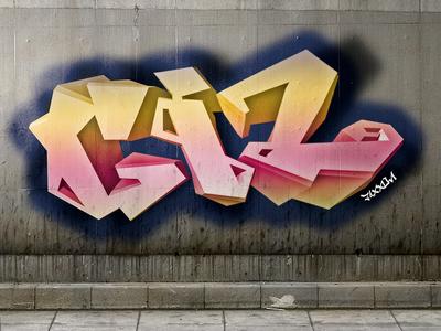 """GIZ"" Brand Graffiti"