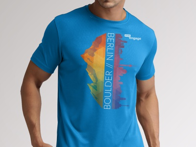 SnapEngage Tech Shirt shirt design shirt company branding apparel design branding design print branding tech shirt sportswear athletic t-shirt design t-shirt