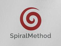 SpiralMethod Logo design logo designs brand identity logotype spiral branding brand design logo design branding logo design logo logo mark