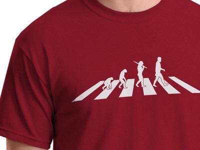 Apey Road T-Shirt Design
