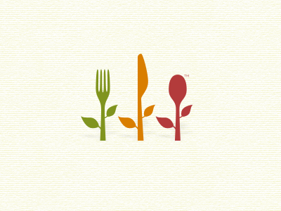 Healthy Eating Logo logo free throw food ating knife utensils fork nutrition healthy spoon