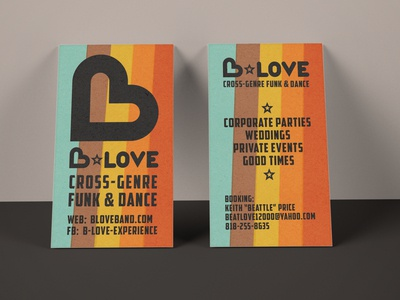 B Love Cards