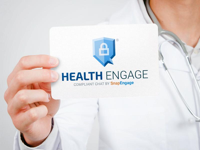 Health Engage Logo healthcare medical health identity brand design branding logotype logo