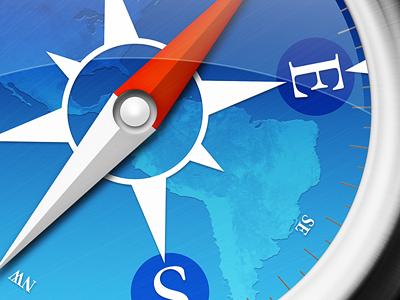 Safari Icon icon safari mac ui interface app os x