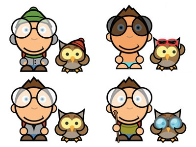 Puzzle Journey Characters character game design