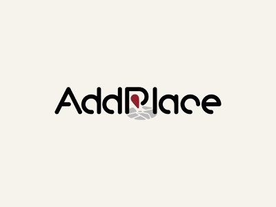 AddPlace logo branding geography route place map point