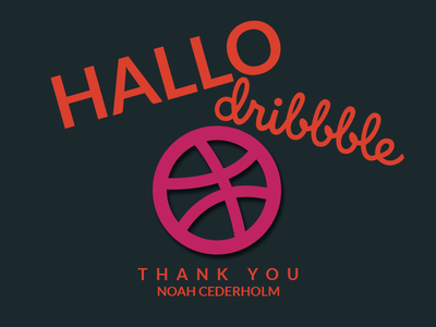 Hallo Dribbble hallo