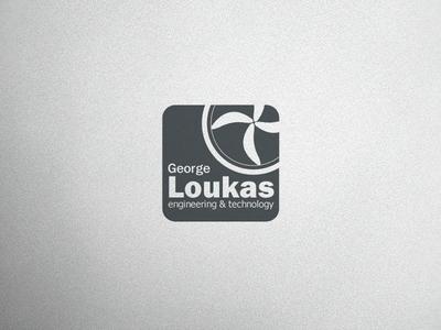 George Loukas Logo V2 vector logo design branding brand