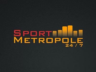 Sport Metropole Logo secondnetwork vector logo design branding brand