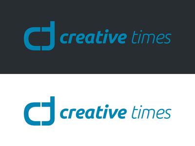 creative times Logo secondnetwork identity corporate logo design branding brand