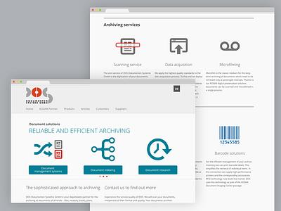 Dos Dokumenten Systeme | Website website
