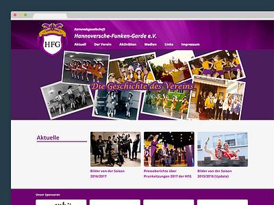 Hannoversche Funken-Garde e.V. | Website karneval carnival hannover website