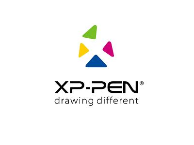 Logo Animation for XP-PEN tablets alexgooco digital reveal design illustration brand animation ae after effects 2d animation branding logo motion graphics graphic design animation