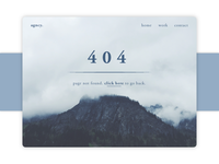 404 Page - Daily UI #008