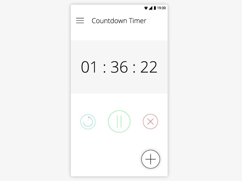 Countdown Timer - Daily UI #014 014 daily ui 014 dailyui daily ui ui ui design ux daily ui 14 ux design timer countdown countdown timer