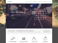 Lania - Another option for Home page