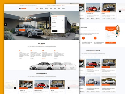 Auto Showroom - Car Dealership WordPress Theme by Sonny Lee - Dribbble