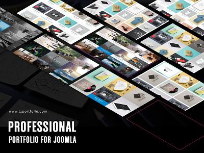 TZ Portfolio+, Professional Portfolio for Joomla extension component joomla work job photography portfolio