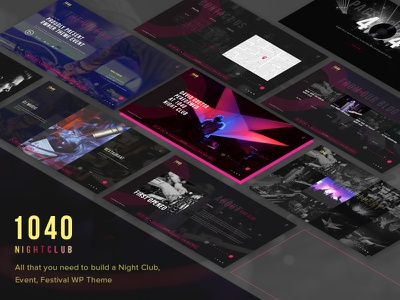 1040 Night Club - DJ, Party, Music Club WordPress Theme night club music festival music light life festival event entertainment dj wordpress theme dj theme dj disco concert