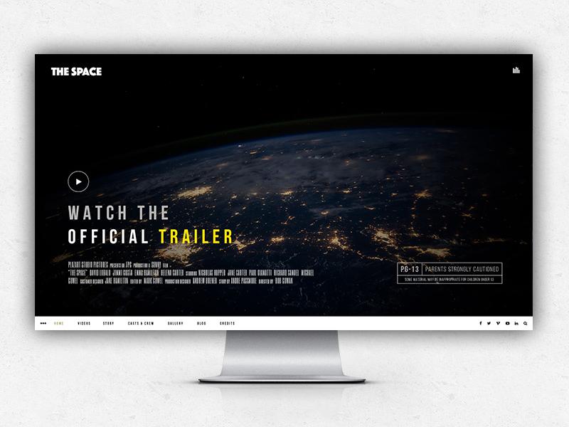 The Space - Nobox version creative fullscreen gallery background video video music film