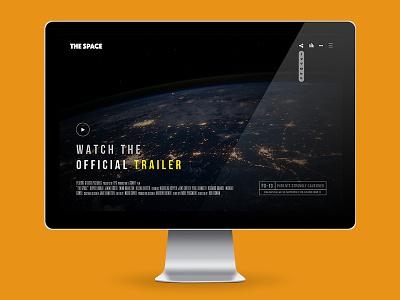 The Space - Rebound version creative fullscreen gallery background video video music film