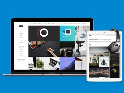 Nish - Creative Portfolio Template showcase profiler photography agency portfolio