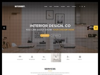 Interiart - Freebie PSD Template