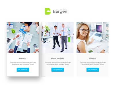 Bergen classic business html5 template by milo themes dribbble bergen classic business html5 template friedricerecipe Gallery