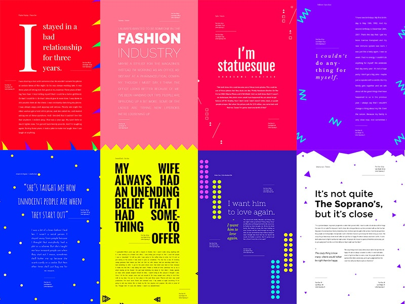 Typography: Google Fonts Combinations - Volume 2 by Milo