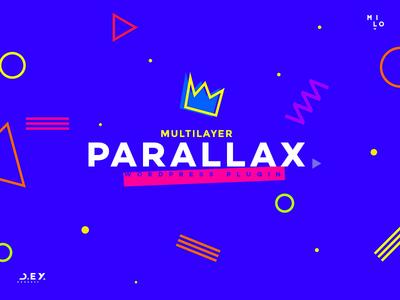 D.ex - Multilayer Parallax WordPress Plugin - New Preview premium plugin dynamic scorll layer milo plugin wordpress parallax multilayer