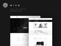 Wien - Website / Theme / Templat