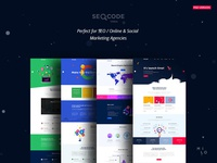 SeoCode - The Ultimate SEO & Online Marketing PSD Template
