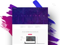 Halcyon - Modern Website Template