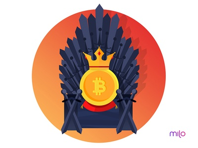 Games Of Bitcoin design flat design cryptocurrency crypto download free freebie illustration bitcoin
