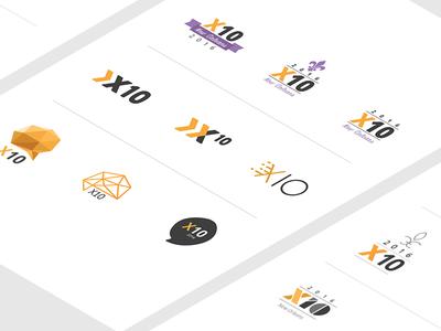 X10 Logo Exploration