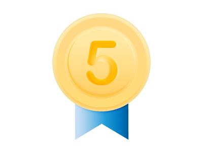 5 Years badge 5 years badge