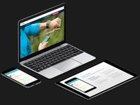 Fitbit App Webpage