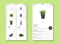 Deskmate & Craft E-Commerce - Home & Detail