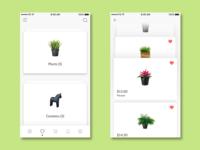 Deskmate & Craft E-Commerce - Favorite Screen