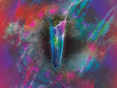 Gem // idk.3 float colorful space crystal gem