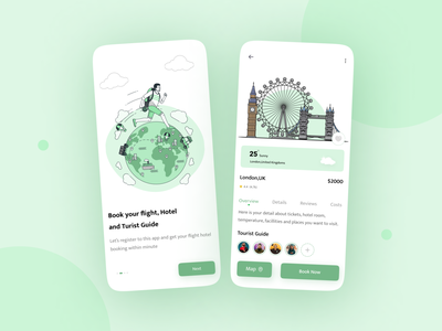Travel Service - App Design Concept mobile app app design app adventure travel agency illustration travel ui ux travel app