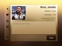 Twitter interface!