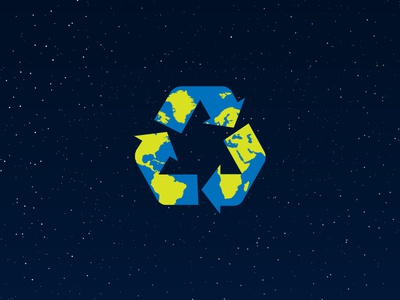 Save the earth: reduce, reuse, recycle!