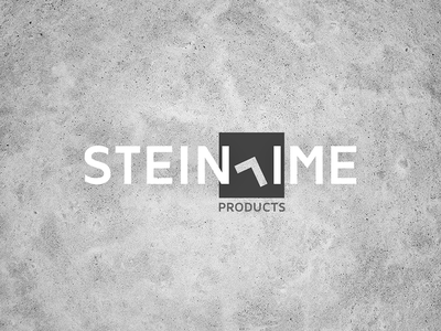 Steintime Products Logo (redone) clock logo texture concrete