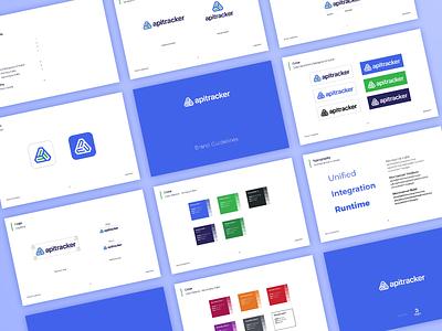 Brand Guidelines for apitracker branding apitracker manager logodesign design logo 3whales